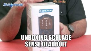 Schlage-Sense-Smart-Deadbolt-Unboxing-White-Rock