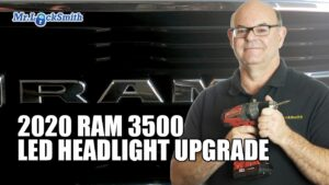 2020-RAM-3500-LED-Headlight-Upgrade-Mr-Locksmith-white-rock